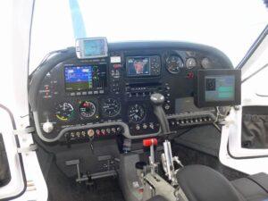 View of Jabiru Cockpit